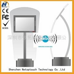 Touch panel TFT LCD kios