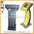LED Touch screen Exhibition kiosk