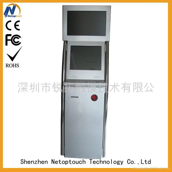 payment terminal touch screen kiosk