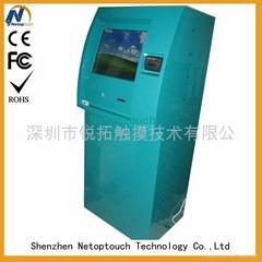 Custom touch screen kios