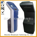touch screen kiosk with keyboard