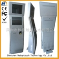 Bill payment internet advertising kiosk