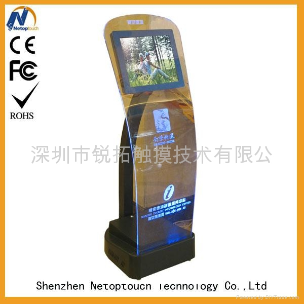 Touch panel kiosk with LED monitor 5