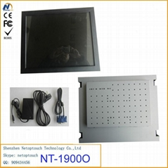 Open frame infrared touch screen monitor
