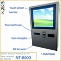 wall mounted touch screen kiosk
