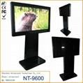 lcd advertising kiosk