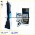 Self service touch screen all-in-one payment kiosk