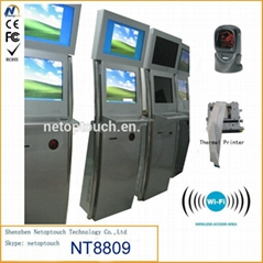 Customized touch screen kiosk