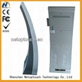 New design NT9005 touch wifi digital kiosk