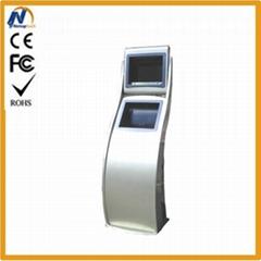 Customized kiosk built