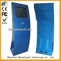 LCD/LED touch internet kiosk case