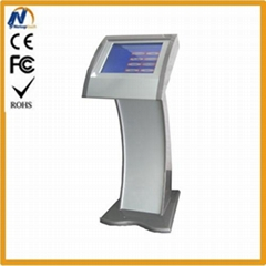 Mall touch kiosk with card reader