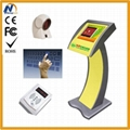 Free standing touch screen digital kiosk