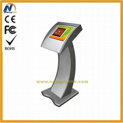 Free standing touch scre