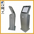 NT6100 free standing digital signage