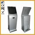 Automatic cash-operator kiosk case with