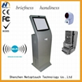 NT6100 banknote payment kiosk with camera