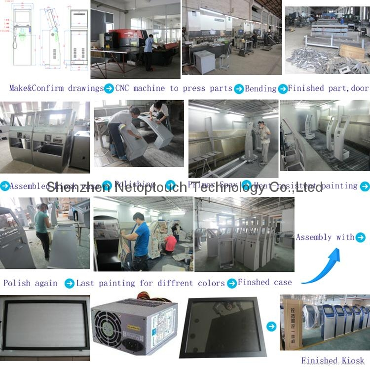 Open frame infrared touch screen monitor 12