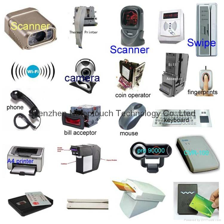 Wifi kiosk equipment with LED display for sale 10