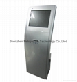19 inch touch screen self printing kiosk
