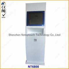 Free standing LCD touch
