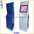 Netoptouch kiosk with touch screen