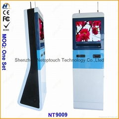 Netoptouch kiosk to accept cash