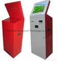 Given change kiosk with bill recycle and