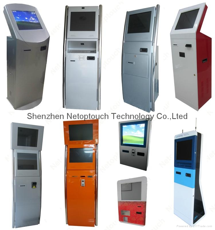 Wifi kiosk with touch screen 9