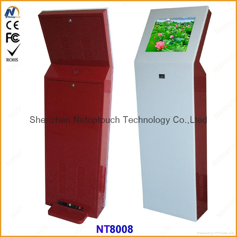Touch screen self payment kiosk 5