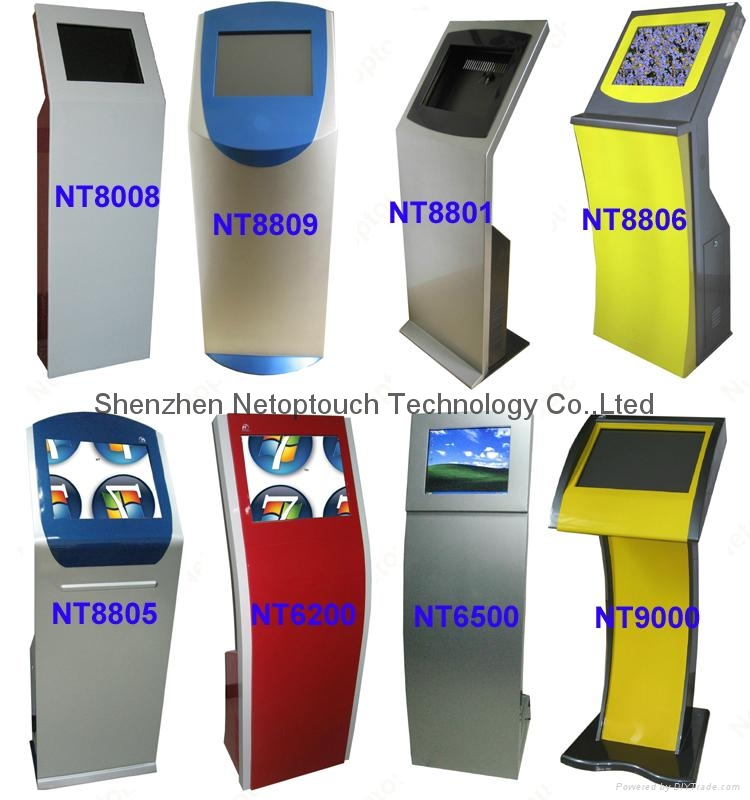 Touch screen self payment kiosk 8