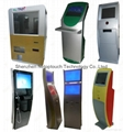Touch screen self payment kiosk 7