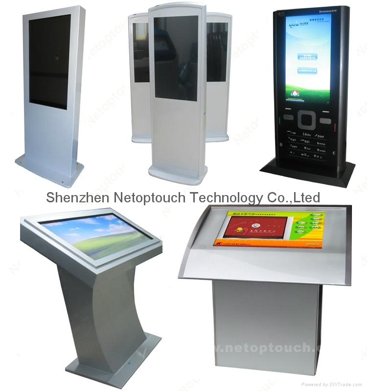 Touch screen self payment kiosk 9