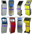 touch screen self pay kiosk