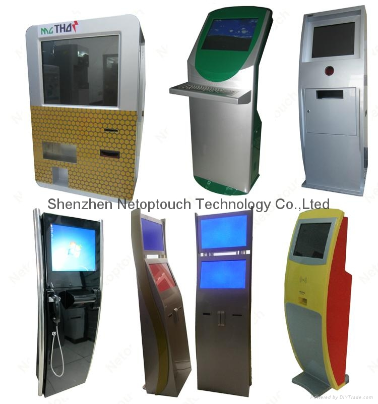 touch screen self pay kiosk 7