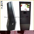 Self service ticketing print touch kiosk with card reader