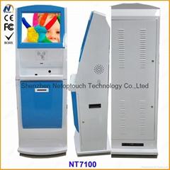 New design Cold rolled steel info kiosk cabinet/case