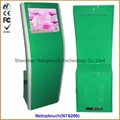"19"" Indoor touch kiosk, indoor touch screen kiosk, indoor touch LCD kiosk"
