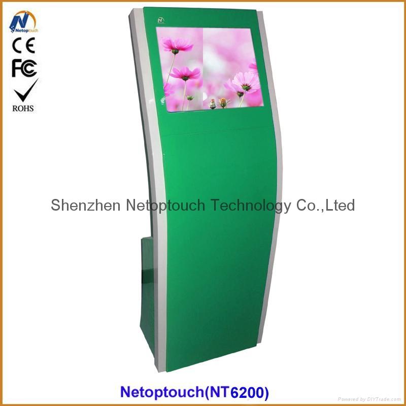 "19"" Indoor touch kiosk, indoor touch screen kiosk, indoor touch LCD kiosk"