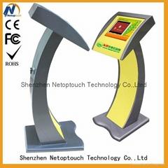 Netoptouch LED monitor kiosk player machine for lobby