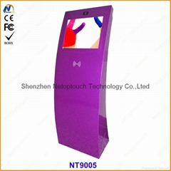 lcd kiosk machine with t