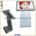 Touch LCD kiosk player as ad display