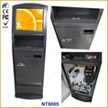Self service ticketing print touch kiosk with card reader  13