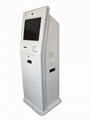 New design payment touch screen kiosk