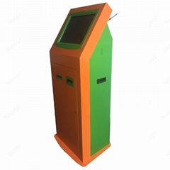 multimedia bill acceptor kiosk