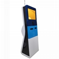 interactive touch screen payment kiosk