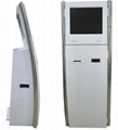 Indoor touch screen info payment kiosk