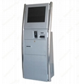 All in one touch screen payment kiosk
