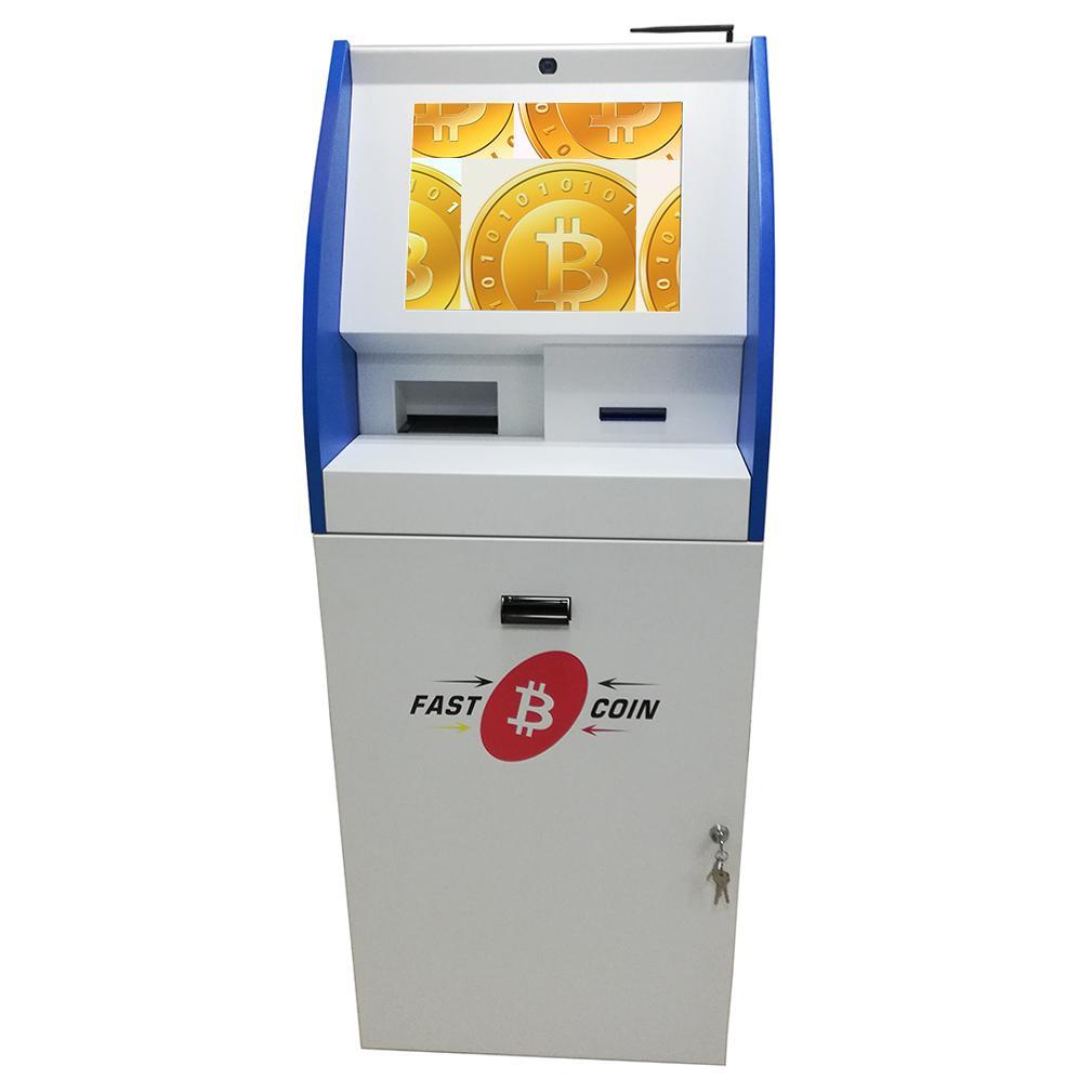 Self service touch screen BTC purchase kiosk  1