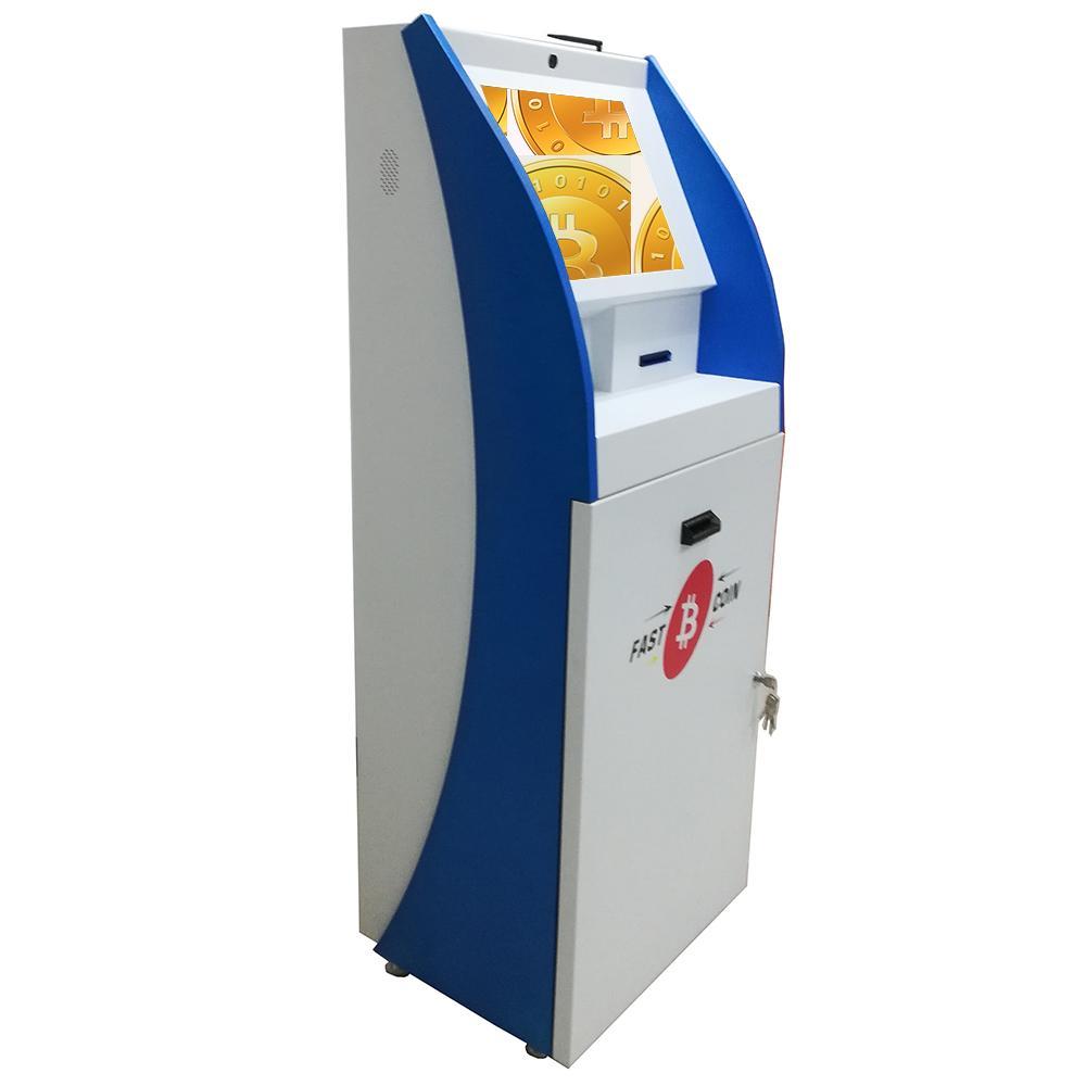 Self service touch screen BTC purchase kiosk  3